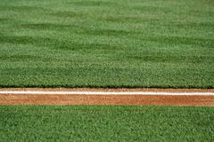 a baseline on a baseball field