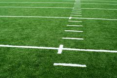 a astro turf football field