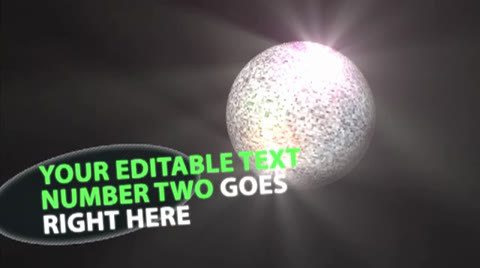 This shiny disco ball in full HD, is editable and resizable to adapt to your media. Also included a lower third with text inputs. Loopable  If you have questions about this project or you need to customize it, please contact me.  [b][color #E24D00]You have also the disco ball isolated in FULL HD video:[/color][/b]  [item]48301765 prev[/item]  [b][color #E24D00]Another party related footage:[/color][/b]  [item]47903151 prev[/item]