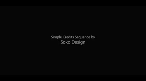 Save time on your films credits section with this template. Simply type in your names and titles, and click render. Easy to customize: Fonts, Text, Colors, Duration. Up to 3 minutes long and easy to configure based on your own credits.  No plugins required.