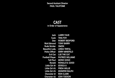 This is a traditional rolling 4K Movie Closing Credits file for After Effects CC or newer. The file includes names and titles of every department working on a big feature film. Fully customizable.