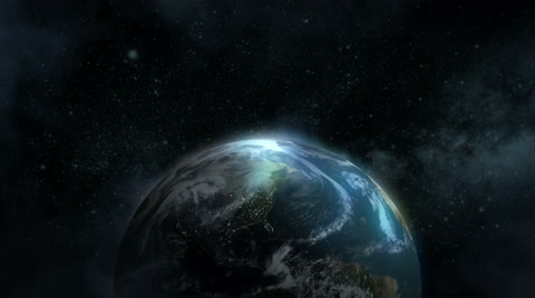 5466 The Earth in space. North America version.