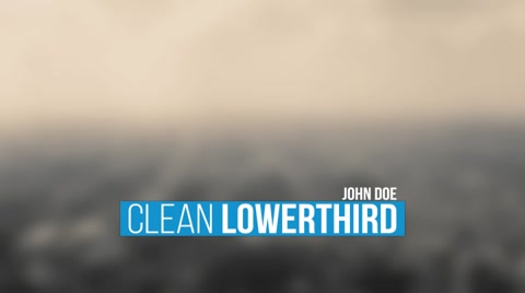 Lower Third  1920x1080 resolution Easy editable No plugins  [b][i]After effects: CS4 or Higher[/i][/b]