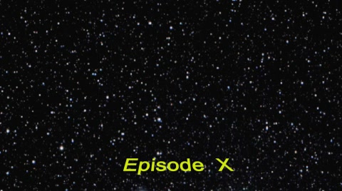 customizable after effects star wars project - change text - placeholder web page - font - color - camera - no plug in - font included