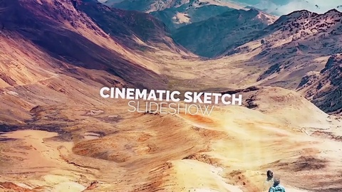 Cinematic Sketch Slideshow is perfect for your photos, videos, presentations, openers, TV as well as many other things...