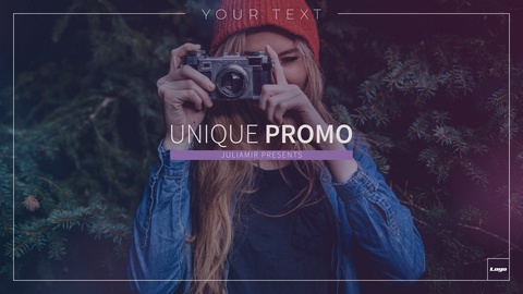 Clean and trendy design perfect for you No plugins required Extremely fast rendering Very easy to use – just put your footages in placeholders and edit text 9 textholders 10 Placeholders Full HD resolution (1080p) CS6 and above Color control Pictures and music track are not included