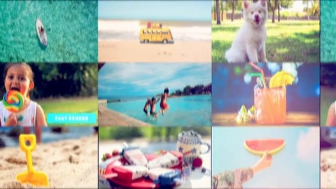 Happy Summer Opener is a high quality and dynamically animated After Effects template with creative transitions and clean text animations. It's so easy to use with 22 media placeholders and 9 editable text layers. Music and photos used in the preview are not included in the template.