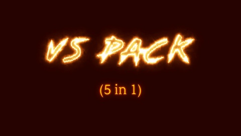 Versus Pack is after effects project with 5 different Versus screens: classic, brush, anime, neon, fire energy. Great for battle video, games, action and sports. Free plugin Saber used, pre-rendered version included. Music from preview - https://www.pond5.com/royalty-free-music/item/99588167-action-sport-rock-trailer-energetic-extreme-powerful-workout Footage used in the preview is not included in the template.