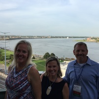 Welcome Reception overlooking the Mississippi River