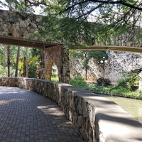 Beautiful walkways at River Walk