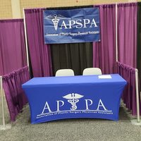 APSPA Booth at Exhibit Hall, San Antonio, 2016