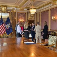 meeting with Governor Gary Herbert in State room