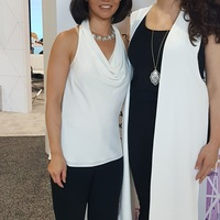 Gabrielle Pino with her Plastic Surgeon, ASAPS Conference, NYC