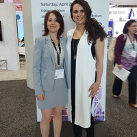 Gabrielle Pino & Inessa Shlifer at ASAPS Conference in NYC
