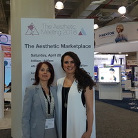 Inessa Shlifer & Gabrielle Pino at ASAPS Meeting, NYC, 2018
