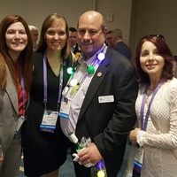 Kristen, Kristina, Jonathan Sobel & Inessa at DFAAPA reception