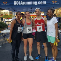 Winners of 5K with PA's from NC state.