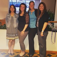 APSPA Board members, Inessa Shlifer, Kristen Daniels, Kristina Marsack and Kristen Snyder Costa.