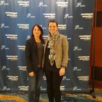 APSPA board members, Kristen Daniels and Inessa Shlifer.