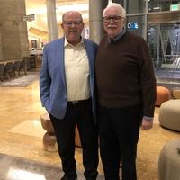 Don Flinn SPAR Past President  with Giannelli