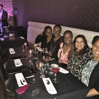 Jazz in Denver with Mufiyda, Carolyn, Andrea, Priti, and Camille
