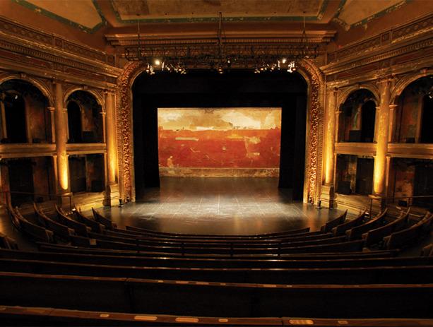Brooklyn Academy Of Music Bam Bam Harvey Theater