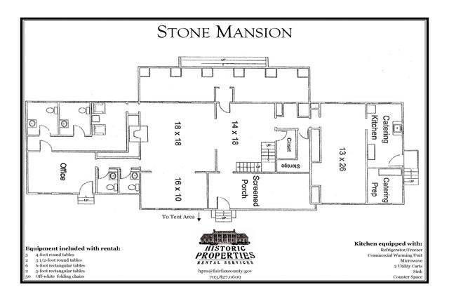Fairfax County Stone Mansion