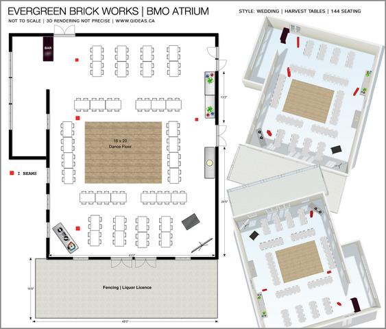 Evergreen Brick Works The Bmo Atrium Spacefinder Toronto