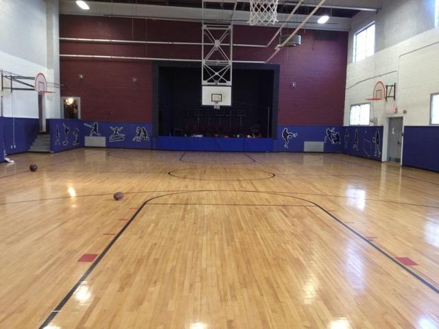Gymnasium.slide