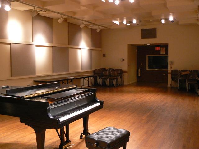 Kaufman Music Center Ann Goodman Recital Hall