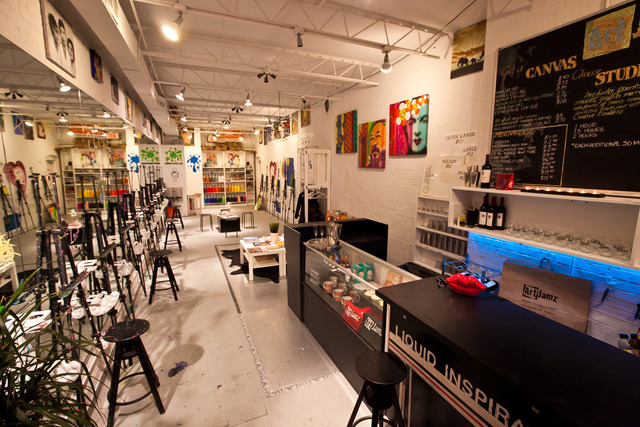Artjamz artjamz dupont studio spacefinder dc for Paint and sip cleveland