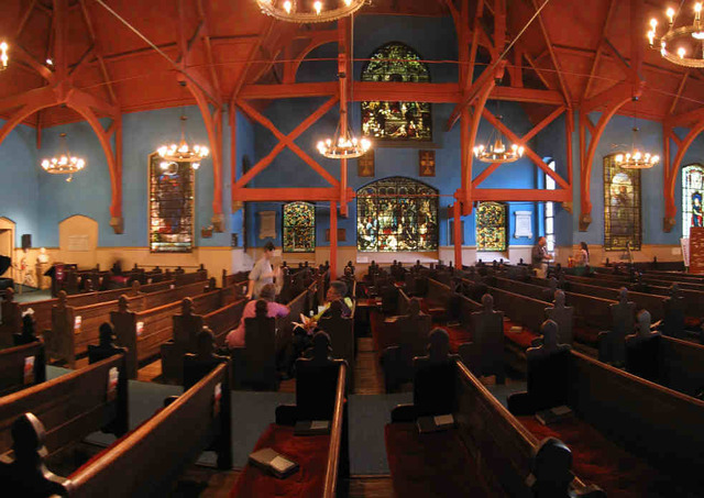 First Unitarian Church Of Philadelphia Sanctuary