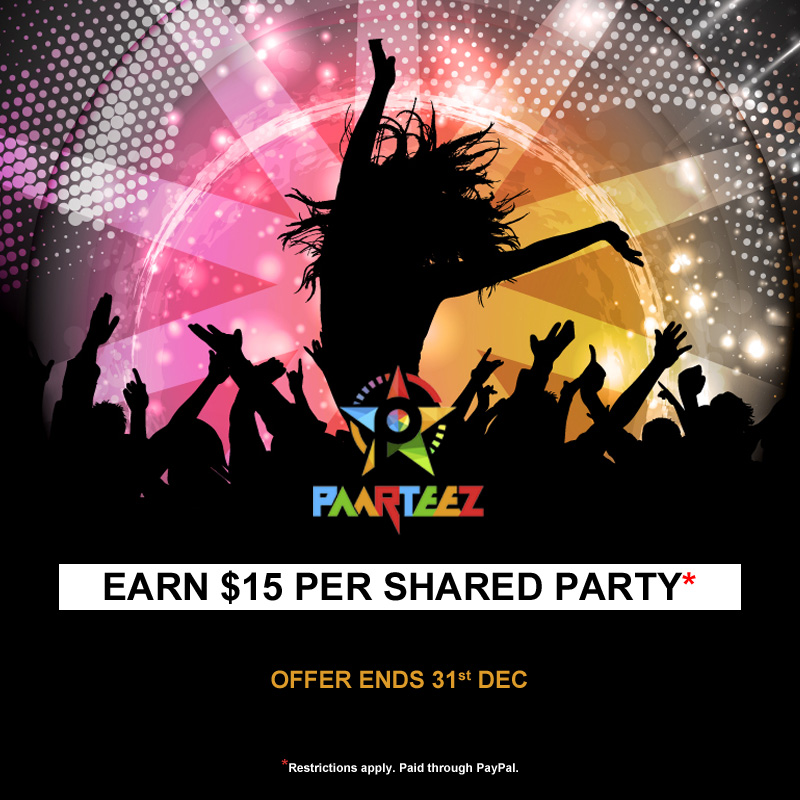 $15 Offer | Paarteez.com