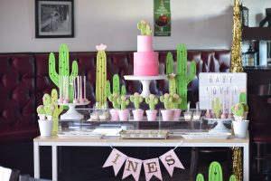 Baby Shower Party Ideas With Cactus Theme