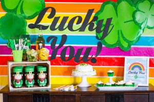 Lucky You – St. Patricks Day Party Idea