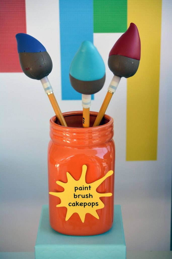 Paint Brush Cake Pop | Paarteez.com