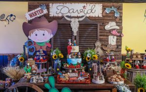 Cowboy Themed 1st Birthday Party