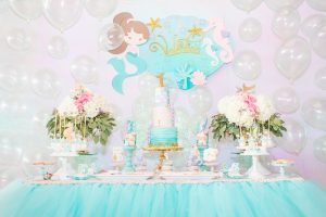 Mermaid Themed Birthday Party For Girls