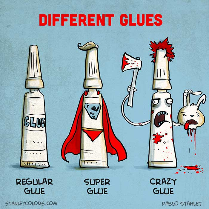 Different Kind of Glues