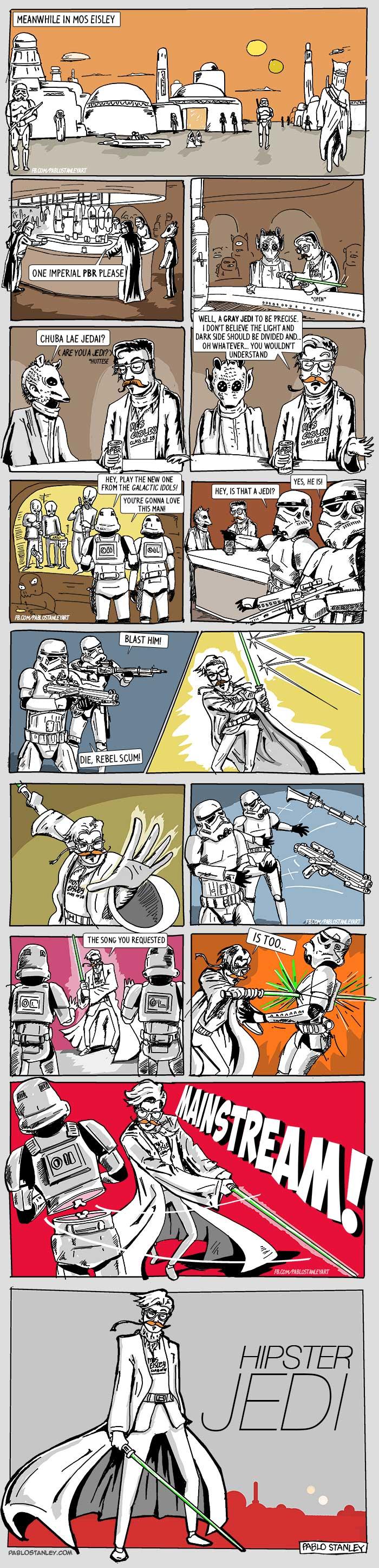 Hipster Jedi