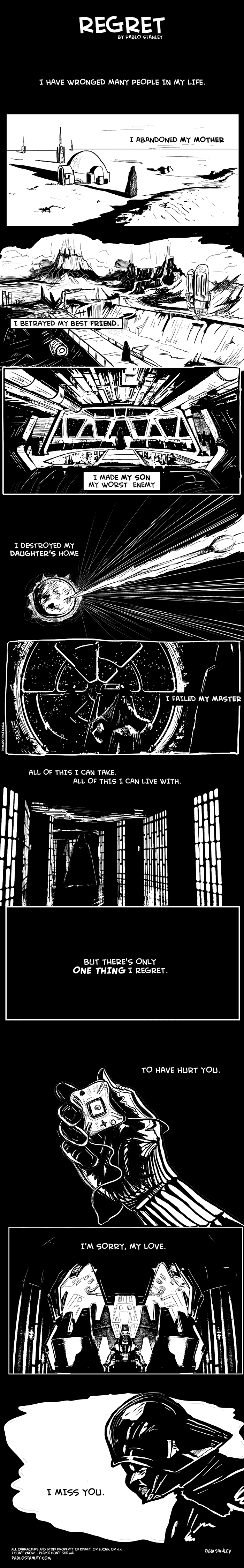 Regret - Darth Vader
