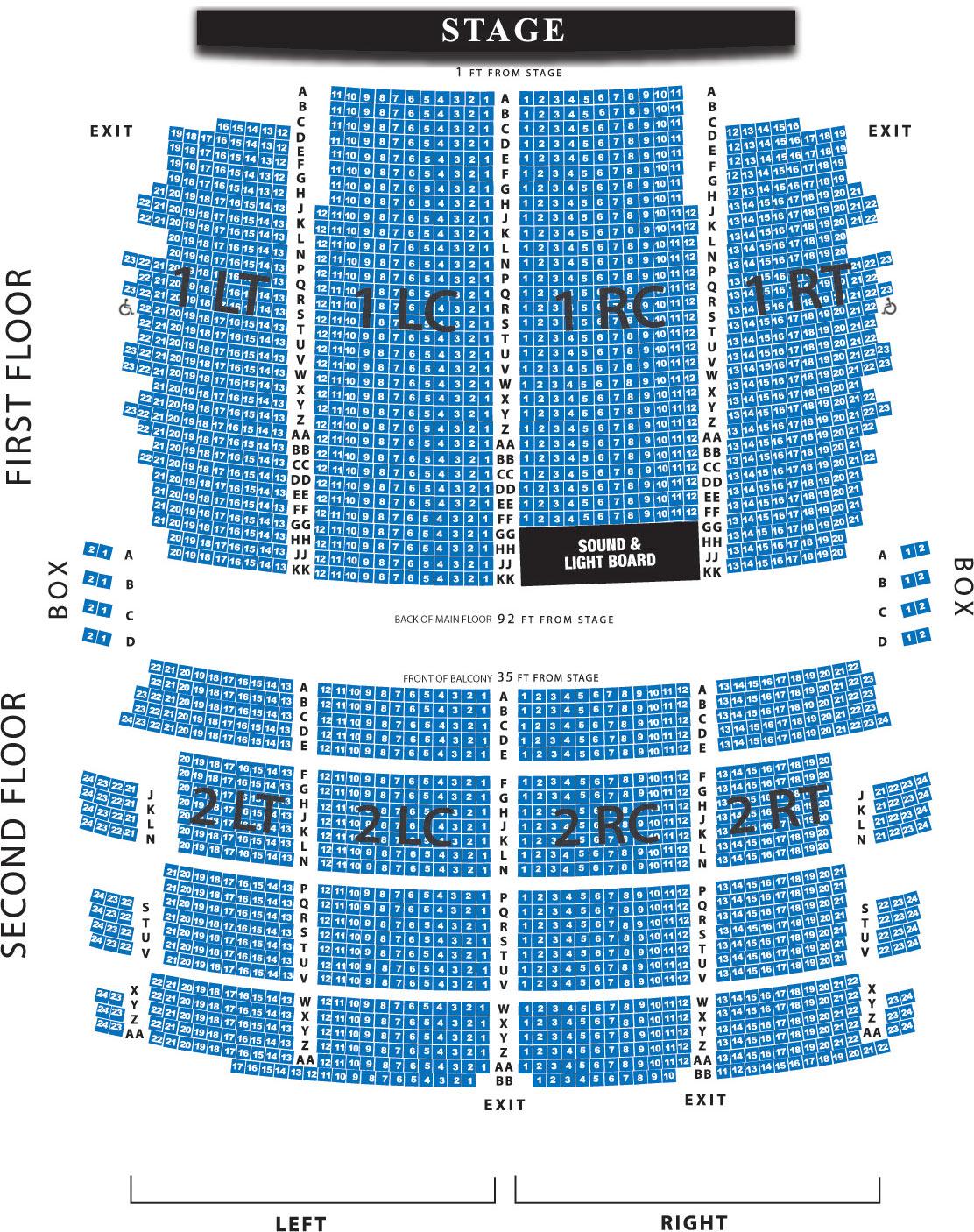 Milwaukee riverside theatre seating chart riverside theatre