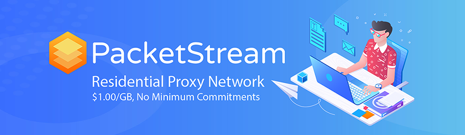 PacketStream: These are the residential proxies you are