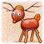 Chestnut Deer