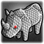 Rhinestone Rhino