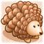 Pine Cone Hedgehog