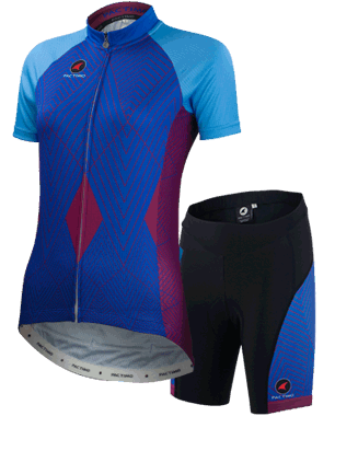 Debbie Clapper Artist Cycling Kit