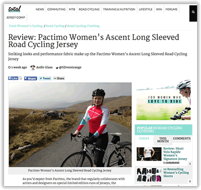 a063d32f8 Review  Pactimo Women s Ascent Long Sleeved Road Cycling Jersey