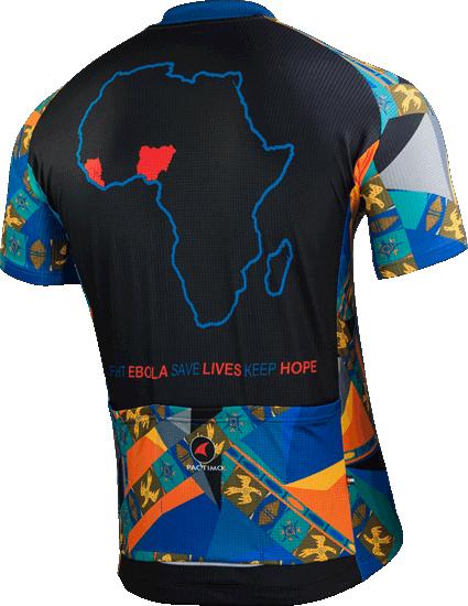 Men's Fight Ebola Cycling Jersey