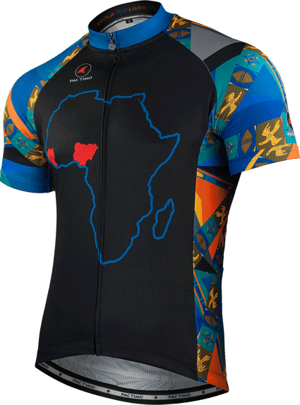 Men's Fight Ebola Cycling Jersey